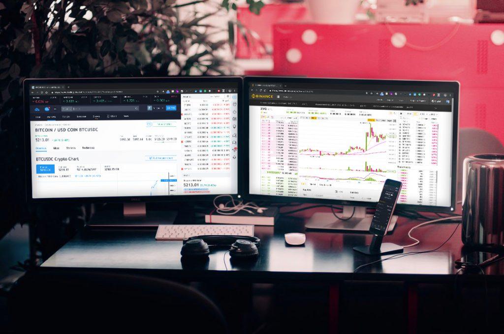 Technische Analyse (TA) op computerschermen